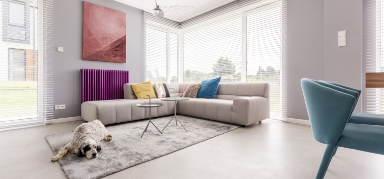 colores en el interior del hogar